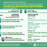 Webinar Nasional Magister: Agama dalam Konteks New Normal